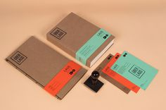 designeverywhere:Über Laus 2012 #collateral #branding #stationery