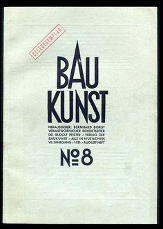 BauKunst No.8 #bauhaus #poster #typography