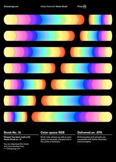 Color Spectrum Poster