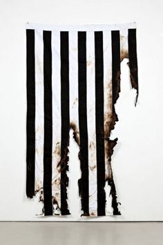 Chip K // #white #burn #flag #stripes #black #destroy #fire