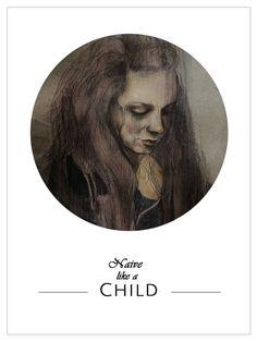 Illustration #dark #woman #drawing