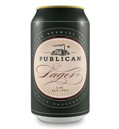Publican Brewing Company Cans