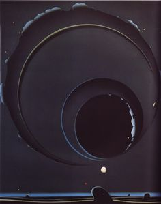 Buamai - All sizes | 06-shuji-tanase-1982-black-space | #abstract