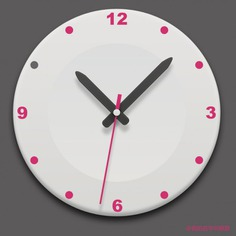 Realistic clock round icon psd Free Psd. See more inspiration related to Icon, Clock, Round, Psd, Material, Clock icon, Realistic and Psd material on Freepik.