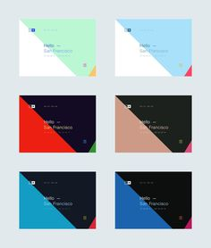 Hello San Francisco by Michiel de Graaf #web #css #website #san francisco #graphic #graphic design #diagonal #location #interface #colors