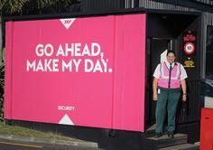 SKY TV NZ #branding #bold #simple #brand #triangle #identity #colour #typography