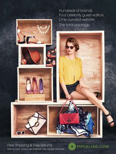 Piperlime Spring 2012 Campaign Graphis #ad