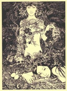 Vania Zouravliov - BOOOOOOOM! - CREATE * INSPIRE * COMMUNITY * ART * DESIGN * MUSIC * FILM * PHOTO * PROJECTS #illustration #vania #zouravliouv
