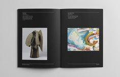 Prahran Mission #white #bold #black #clean #monochrome #art #and #brochure
