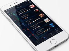 Timeline app concept