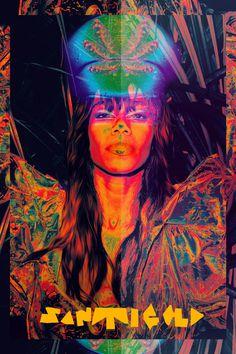 Santigold Collages Leif Podhajský #collage #light #colour