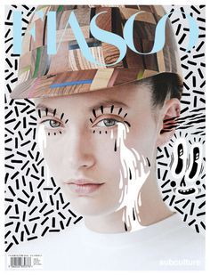Fiasco #magazine cover #photo #illustration #collage