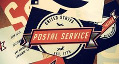 The U.S. Postal Service Is Dying. Why Not Radically Rebrand It? #logo #vintage #branding #typography