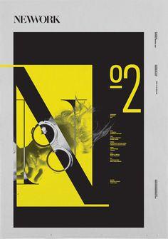 NEWWORK MAGAZINE, Issue 2 on Behance #newwork #magazine