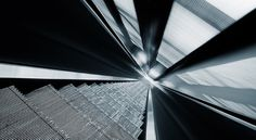 downstairs on the Behance Network #metal #light
