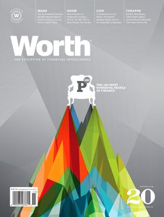 Worth (New York, NY, USA) #design #graphic #cover #editorial #magazine