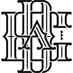James T. Edmondson Type and Lettering #lettering #script #t #james #wisdom #type #edmondson #badass #typography