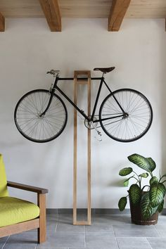 bike hanger #interior #product design #bike #hanger