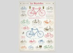 Cavallini #bicycle #graphic #vintage #poster #giftwrap #ephemera