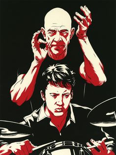 Whiplash - Cun Shi | Home #illustraion #whiplash #portraits #movie