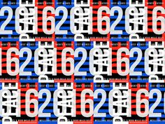 2016 New Year greeting, 2016, pattern, repeat, 2016, Hope Peace Love, Blue whet red.
