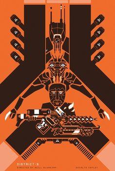 District 9 – 2009 [My Film Poster] » Might&Wonder
