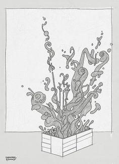 bropix.blog #scetch #arts #wood #instruments #drawing #fine