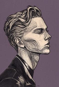 Natasha Semenova – Portrait Illustration