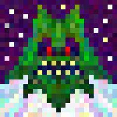 pxl dst #abstract #design #pixel #illustration #art
