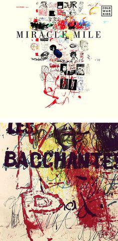 Matt Maust   Cold War Kids   Miracle Mile #abstract #album #doodle #maust #war #cold #matt #art #grunge #kids