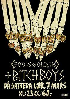 Kristian Hammerstad illustration Bitch Boys treasure finger skeleton