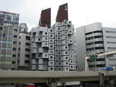 Nakagin Capsule Tower (Tokyo, Japan) #building #house #interesting