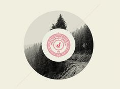 astronaut #design #vintage #mountains #circle
