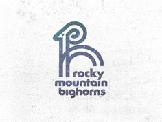 Dribbble - Rocky Mountain Bighorns by Mike Bruner