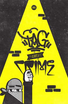 VARIOS!!! on Behance #design #tag #art #street #character #crime