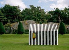 white arkitekter chameleon cabin designboom #paper cabin