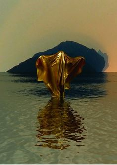 patternity-goldform-katherineferguson.jpg 560 × 789 Pixel #ghost #stage #water #person #gold