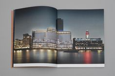Sea Containers. Rebranding a London landmark – dn&co. #spread #layout #photography #editorial