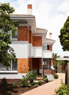 Interwar Duplex Turned Into Bright Family Residence