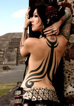 30 Tribal Tattoos for Women #women #tribal #tattoos