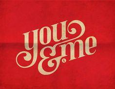 Logos / you & me, logo, design #logo #design #youme