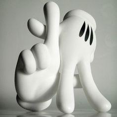 tumblr_li73t0jhCu1qb1bpho1_500.jpg 500×500 pixels #sculpture #los #hands #sign #gang #micky #art #angeles