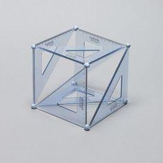 Designersgotoheaven.com  Set Square Cubed by Daniel Eatock.