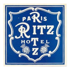 All Things Stylish #paris #ritz #shield #heraldry