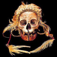 ASMAT TRIBAL SKULL 1 #headdress #skull