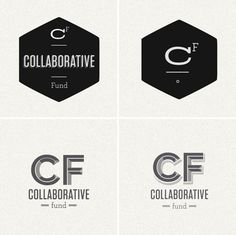 FFFFOUND! | Collaborative Fund is up! : Kelli Anderson #logo #hexagon