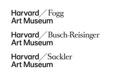 Harvard Art Museum on Behance #logotype #identity
