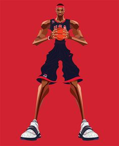 Basketball p Festival: Illustrations by Saiman Chow #design #graphic #illustrations #usa #game #basketball