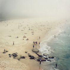 "CJWHO ™ (""Bondi Haze"" – Bondi Beach Sydney Photography by...)"