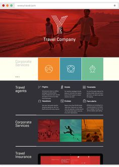 Y Travel on Behance